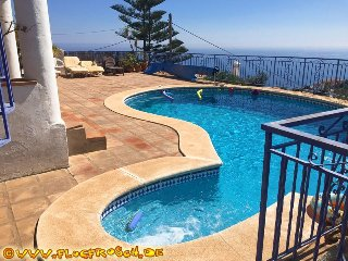 FINCA MONTE MARE *** PRIVATE HEATED POOL *** BEAUTIFUL PANORAMIC SEA VIEWS