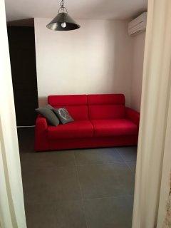Chambre 2, ouverte, 1 canapé lit 140x190