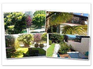 Au Pied du Canigou - Meublé gîte classé 4 étoiles dans belle villa et jardin