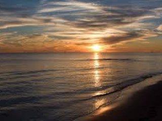 A BILOXI SUNSET
