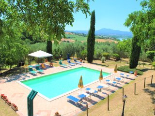 "Apartment ""Le Volticine"" on the border between Umbria and Tuscany"