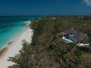 Newly Renovated Beachfront Estate w/ Pool, 11 Acres, Secluded Pink Sand Beach
