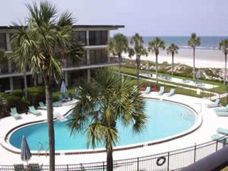 Great views of the Ocean & Pool from this 3rd floor condo at Ocean House #318