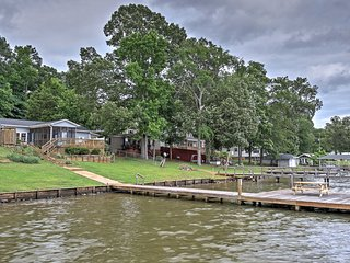 Waterfront Waterloo House w/ Private Deck & Dock!