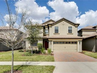 Beautiful 6BR 6 bath Champions Gate home w/pool and gameroom from $165 a night!