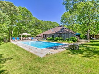 NEW! 1BR East Hampton Apartment w/Private Yard & Pool!