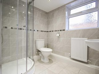 Shower room, easily accessed on ground floor level