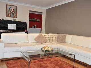 A large Living room for guests to relax