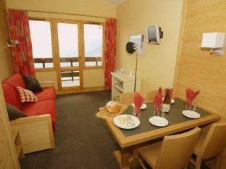La Chantelouve, Les Coches-La Plagne : 1 bedroom ski-in/ski-out