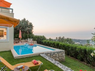 Alkistis villa, privacy, private pool, unobstructed views