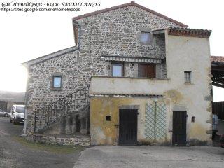 Maison individuelle au ceour des volcans d'Auvergne
