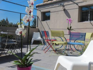 PRIVATE HOUSE TOTALLY RENOVATED, WIFI, PRIVATE PARKING, 5 ROOMS, AVIGNON CENTRER