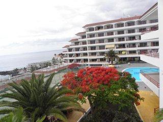 Aparthotel in Playa la Arena with ocean views