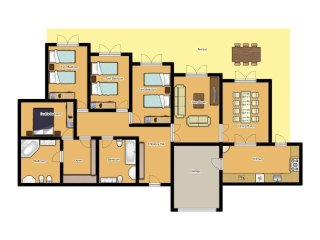 4 bedroom Villa in Binibèquer Vell, Balearic Islands, Spain : ref 5334715