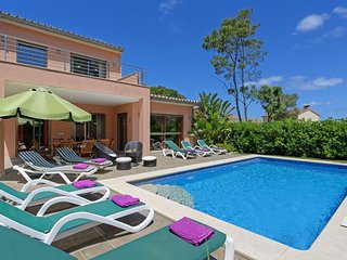 5 bedroom Villa in Cala San Vicente, Balearic Islands, Spain : ref 5334583