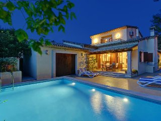 4 bedroom Villa in Cala San Vicente, Balearic Islands, Spain : ref 5334179