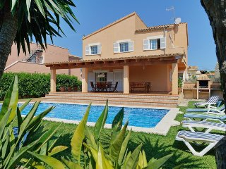 5 bedroom Villa in es Barcares, Balearic Islands, Spain : ref 5334566