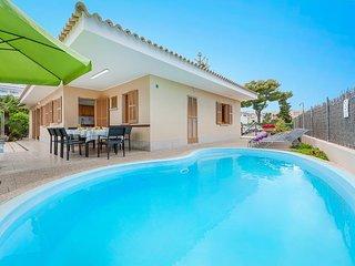 5 bedroom Villa in Playa de Muro, Balearic Islands, Spain : ref 5334180