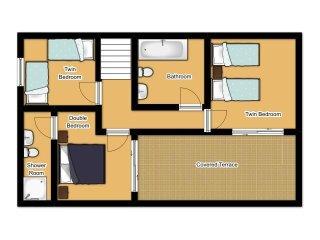 3 bedroom Villa in Cala d'Or, Balearic Islands, Spain : ref 5334572