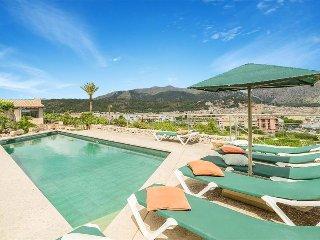 4 bedroom Villa in Pollença, Balearic Islands, Spain : ref 5334653