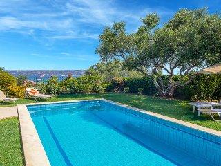 Kalyves Villa Sleeps 6 with Pool Air Con and WiFi - 5334444