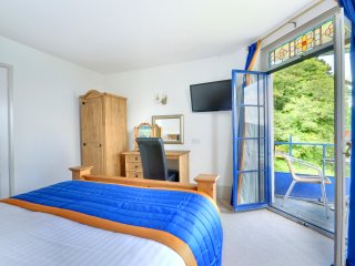 Master Bedroom with Balcony and panoramic seaviews
