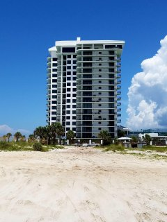 wrap around balcony provides views north to Lagoon, South to Gulf of Mexico and West with sunsets !!