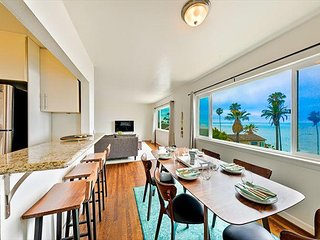 20% OFF JUNE! Oceanfront Condo w/ Ocean Views, Walk to Beach, Shops & More
