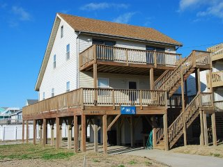 The OBX Rx- 4 Bedroom Semi Oceanfront Home
