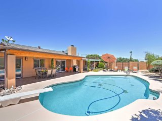 4BR Phoenix Home w/Heated Pool - Near Mtn Preserve!