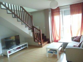 duplex tres habitaciones seis personas, próximo a playas de Liencres
