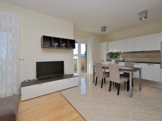 AM 068 Sharon Luxury apartments  with pool  Novalja A3  2+2