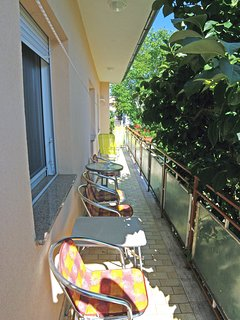Terrace of the appartment