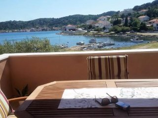 Dani Seaview Apartment In Tisno near festival site (2+2 persons)A4