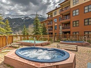 New! 2BR Copper Mountain Condo w/Balcony -Walk to Ski Lift!
