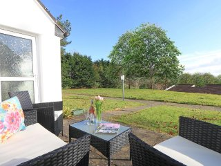 MANORCOMBE 40, holiday bungalow at Tamar Valley Resort, dog friendly, quality