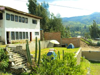We are a mountain guesthouse located in the department of Ancash, Peru, in the c