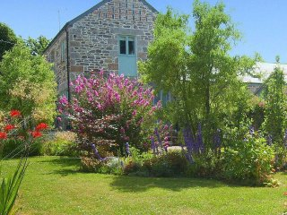 ELDERTREE is a converted barn, enclosed garden, close to the beach, near Praa