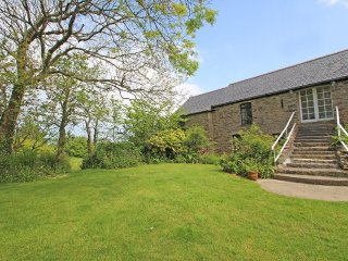 BEECH granite barn conversion apartment, shared garden near Perranporth resort