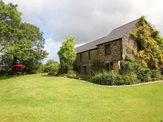HOLLY BARN, country barn conversion on small farm and holiday complex, walk to