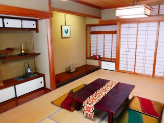 Japanese style suite room with mini kitchen / Jacuzzi / 2 bed rooms