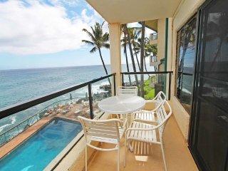 Super View+Island Ease! Kitchen, Private Lanai, WiFi, Washer/Dryer–Poipu Shores