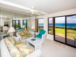 Poipu Shores - 2BR Deluxe Oceanfront Suite #105A