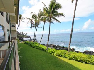 Family Fave! Casual Condo w/Lanai, Full Kitchen, WiFi, Washer/Dryer–Poipu