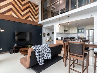 New!Industrial 1BR Loft 70sqm Eastwood City QC with WIFI up to 50MBPS
