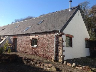 WAGTAIL COTTAGE, barn conversion, country location, underfloor heating, doorstep