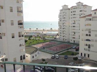 Apartamento 2 habitaciones, Piscina, Primera línea, Valdelagrana