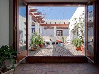 Lali's House. Autentica casa Sitgetana en el centro de Sitges.