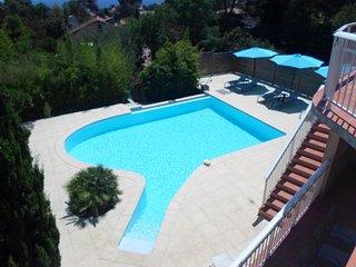 Villa Pendfel avec vue sur la mer