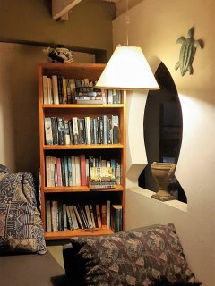 Reading corner in Lounge